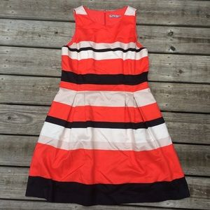 Eliza J Striped Color Block Dress 14